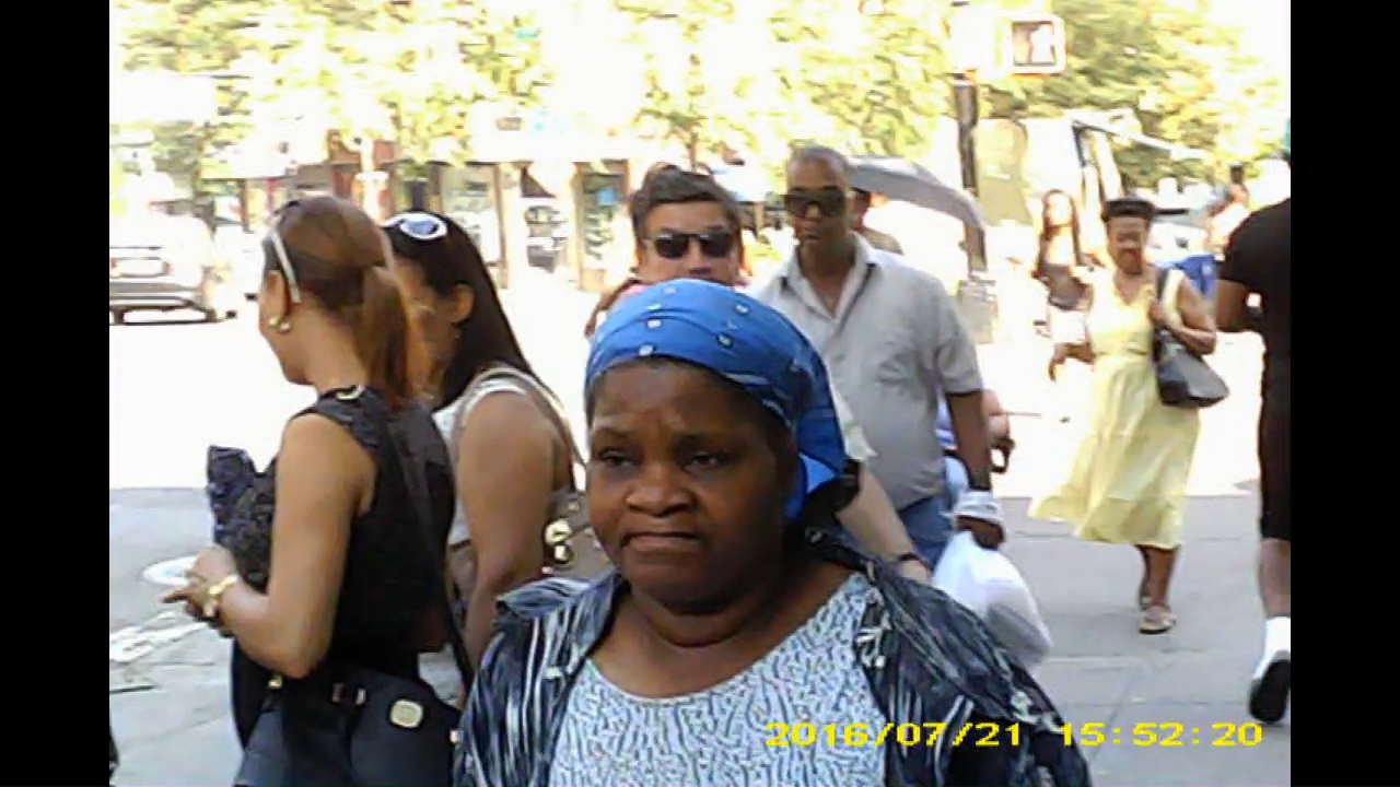 Closeup of female and stalkers with sun glasses.