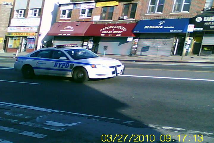 nyc police vehicle