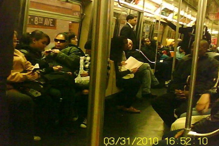 Subway Car Exterior