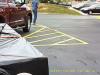 Man Leaves Vehicle