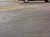 Vehicle enters parking lot
